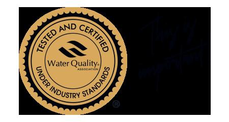 WQA Certification image